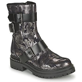 鞋子 女士 短筒靴 Metamorf'Ose KALOPE 银灰色