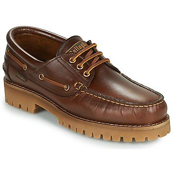鞋子 男士 皮便鞋 CallagHan TIM CRO. 棕色