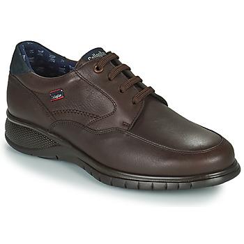 鞋子 男士 德比 CallagHan FREEMIND 棕色
