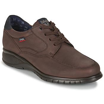 鞋子 男士 德比 CallagHan FREEMIND 黑色