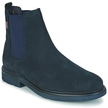 鞋子 男士 短筒靴 CallagHan PURE CASUAL 蓝色