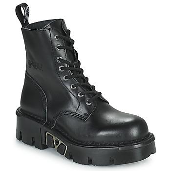 鞋子 短筒靴 New Rock M-MILI084N-S3 黑色