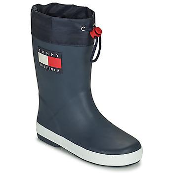 鞋子 儿童 雨靴 Tommy Hilfiger T3X6-30766-0047800 海蓝色