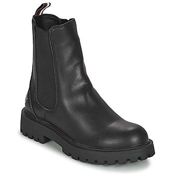 鞋子 女孩 短筒靴 Tommy Hilfiger T3A5-31198-0289999 黑色