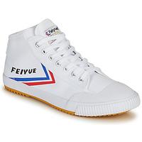 鞋子 男士 高帮鞋 Feiyue 飞跃 FE LO 1920 MID 白色 / 蓝色 / 红色