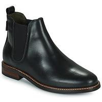 鞋子 女士 短筒靴 Barbour FOXTON 黑色