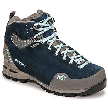 鞋子 女士 登山 Millet G TREK 3 GORETEX 绿色 / 蓝色