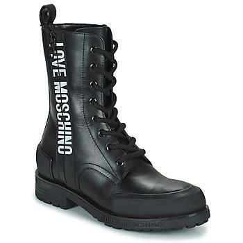 鞋子 女士 短筒靴 Love Moschino JA24184G1D 黑色