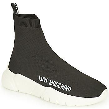 鞋子 女士 高帮鞋 Love Moschino JA15343G1D 黑色