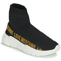 鞋子 女士 高帮鞋 Love Moschino JA15633G0D 黑色