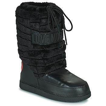 鞋子 女士 雪地靴 Love Moschino JA24232G0D 黑色