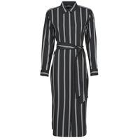 衣服 女士 长裙 Lauren Ralph Lauren RYNETTA-LONG SLEEVE-CASUAL DRESS 黑色