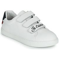 鞋子 女士 球鞋基本款 Bons baisers de Paname EDITH JE T AIME MOI NON PLUS 白色