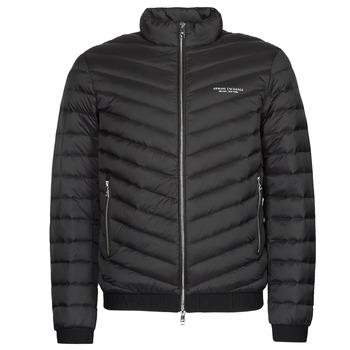 衣服 男士 羽绒服 EMPORIO ARMANI EAX 8NZB52 黑色