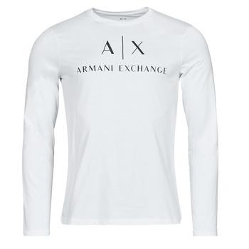 衣服 男士 长袖T恤 EMPORIO ARMANI EAX 8NZTCH 白色