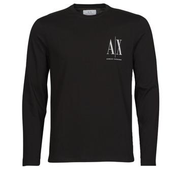 衣服 男士 长袖T恤 EMPORIO ARMANI EAX 8NZTPL 黑色