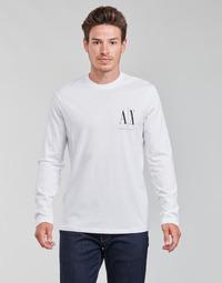 衣服 男士 长袖T恤 EMPORIO ARMANI EAX 8NZTPL 白色
