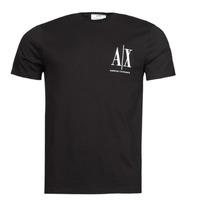 衣服 男士 短袖体恤 EMPORIO ARMANI EAX 8NZTPH 黑色