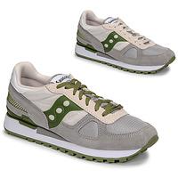 鞋子 男士 球鞋基本款 Saucony SHADOW ORIGINAL 灰色 / 绿色