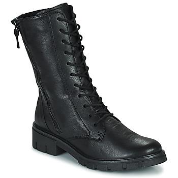 鞋子 女士 短筒靴 Ara DOVER 黑色