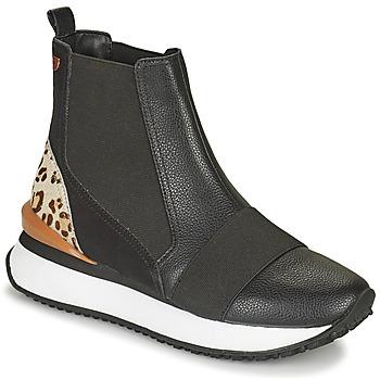 鞋子 女士 高帮鞋 Gioseppo LUNNER 黑色 / Leopard