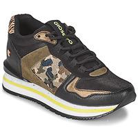 鞋子 女士 球鞋基本款 Gioseppo GRAZ 黑色 / 卡其色