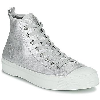 鞋子 女士 球鞋基本款 Bensimon STELLA B79 SHINY CANVAS 银灰色