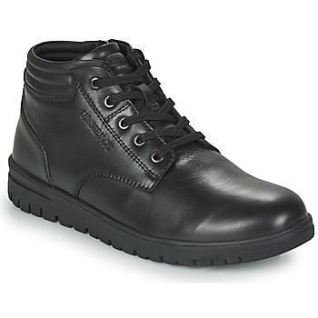 鞋子 男士 短筒靴 Lumberjack ALFRED LOW BOOT LACE 黑色
