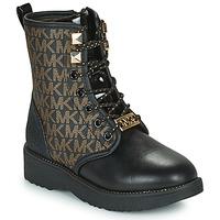 鞋子 女孩 短筒靴 Michael by Michael Kors HASKELL 黑色 / 金色