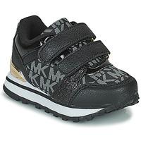 鞋子 女孩 球鞋基本款 Michael by Michael Kors BILLIE JOGGER H&L 黑色 / 金色