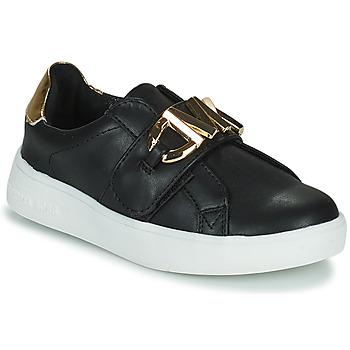 鞋子 女孩 球鞋基本款 Michael by Michael Kors JEM MK 黑色 / 金色