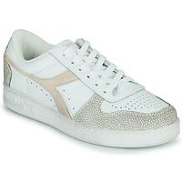 鞋子 女士 球鞋基本款 Diadora 迪亚多纳 MAGIC BASKET LOW ICONA WN 白色