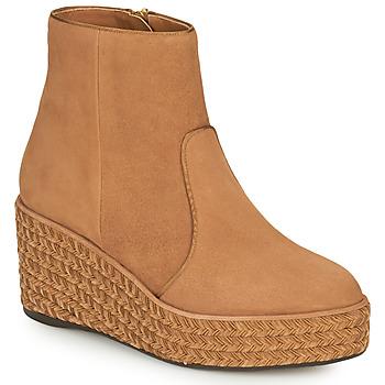 鞋子 女士 短筒靴 Castaner NICOLA 棕色