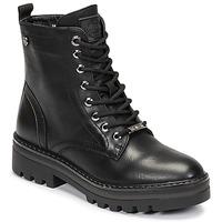 鞋子 女士 短筒靴 Refresh  黑色