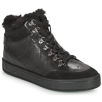鞋子 女士 短筒靴 Geox 健乐士 LEELU 黑色