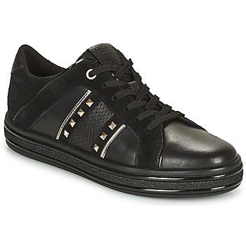 鞋子 女士 球鞋基本款 Geox 健乐士 LEELU 黑色