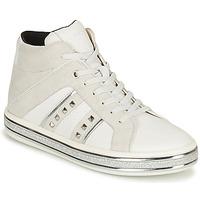 鞋子 女士 短筒靴 Geox 健乐士 LEELU 白色 / 灰色