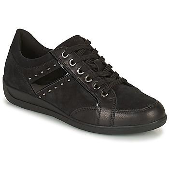 鞋子 女士 球鞋基本款 Geox 健乐士 MYRIA 黑色
