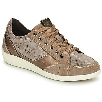 鞋子 女士 球鞋基本款 Geox 健乐士 MYRIA 金色