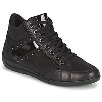 鞋子 女士 高帮鞋 Geox 健乐士 MYRIA 黑色