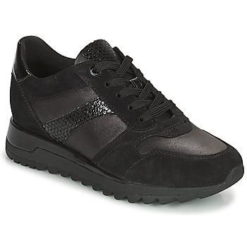 鞋子 女士 球鞋基本款 Geox 健乐士 TABELYA 黑色