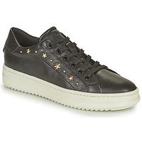 鞋子 女士 球鞋基本款 Geox 健乐士 PONTOISE 黑色 / 金色