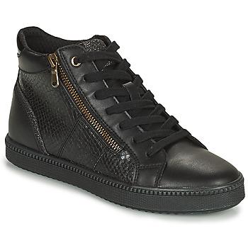 鞋子 女士 高帮鞋 Geox 健乐士 BLOMIEE 黑色