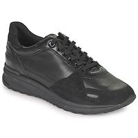 鞋子 女士 球鞋基本款 Geox 健乐士 AIRELL 黑色
