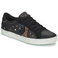 鞋子 女士 球鞋基本款 Geox 健乐士 WARLEY 黑色 / 金色