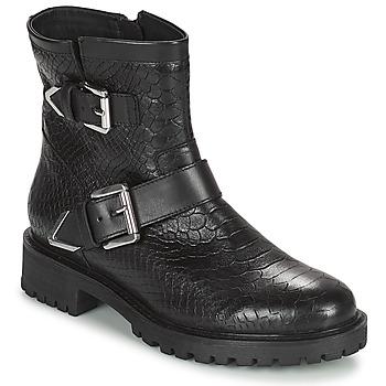鞋子 女士 短靴 Geox 健乐士 HOARA 黑色