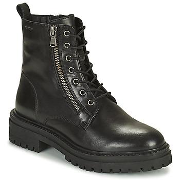 鞋子 女士 短靴 Geox 健乐士 IRIDEA 黑色
