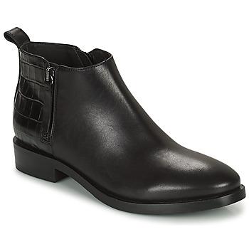 鞋子 女士 短靴 Geox 健乐士 BROGUE 黑色