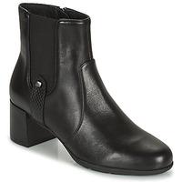 鞋子 女士 短靴 Geox 健乐士 ANNYA 黑色
