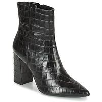 鞋子 女士 短靴 Geox 健乐士 BIGLIANA 黑色